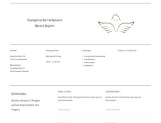 heilpraxis-bajohr.de screenshot