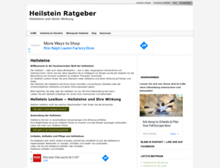 heilstein-ratgeber.de screenshot