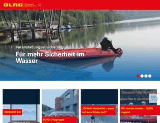 heimbach.dlrg.de screenshot