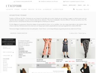 heimstone.lexception.com screenshot