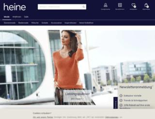 heine.ch screenshot