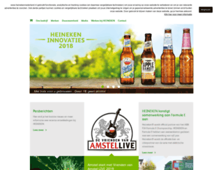 heinekennederland.nl screenshot