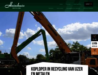 heinhuis.nl screenshot