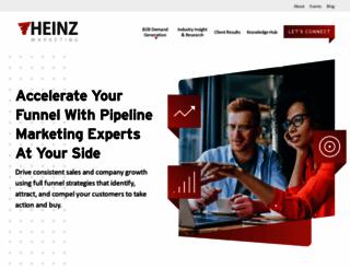 heinzmarketing.com screenshot