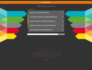 heirloomcrochet.com screenshot