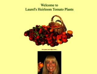 heirloomtomatoplants.com screenshot