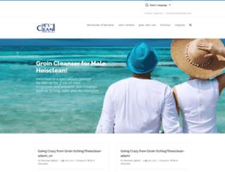 heisclean-global.com screenshot