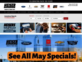heiser.com screenshot