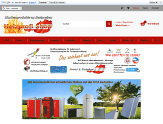 heizprofishop.at screenshot