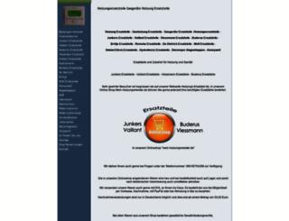heizungs-ersatzteil.de screenshot