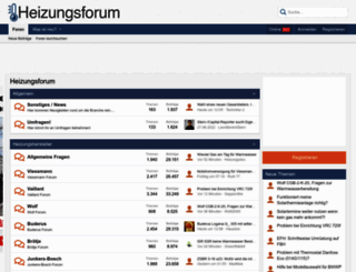 heizungsforum.de screenshot