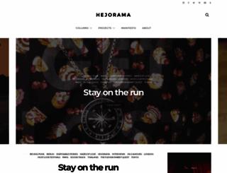 hejorama.com screenshot