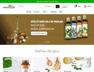 hekimzade.com screenshot