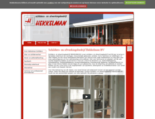 hekkelmanschilders.nl screenshot