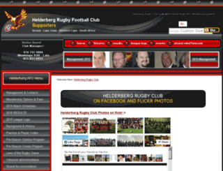helderbergrugbyclub.co.za screenshot