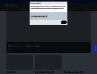 helen4395410.usana.com screenshot