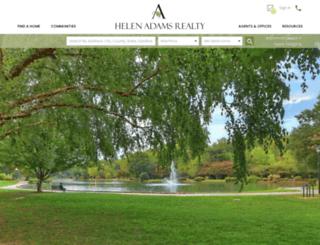 helenadamsrealty.com screenshot