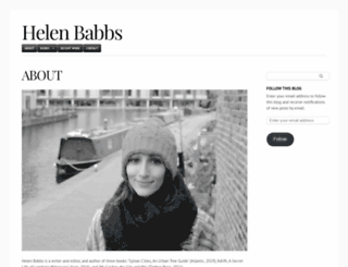 helenbabbs.wordpress.com screenshot