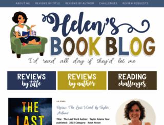 helensbookblog.blogspot.com screenshot