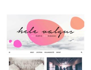 helevalgus.com screenshot