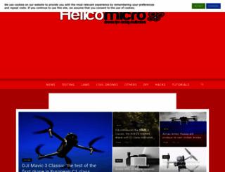 helicomicro.com screenshot