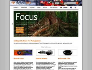 heliconfocus.com screenshot