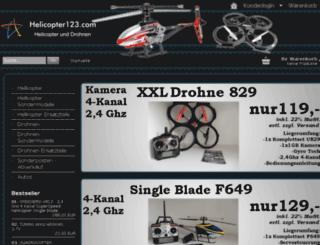 helicopter123.com screenshot