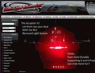heliflightcenter.com screenshot