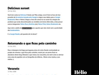 heliocorreia.org screenshot