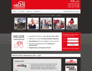 heliosrace.cz screenshot