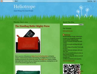 heliotropehome.blogspot.com screenshot
