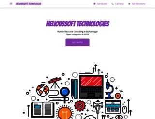 helioussofttechnologies.com screenshot