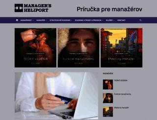 heliport.sk screenshot