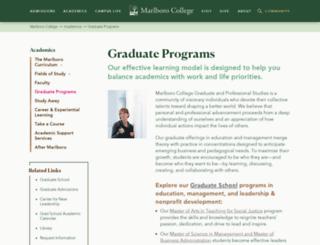 helix.marlboro.edu screenshot