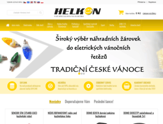 helkon.cz screenshot