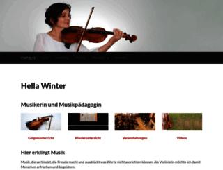hellawinter-musik.de screenshot