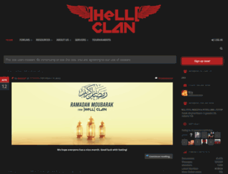 hellclan.co.uk screenshot