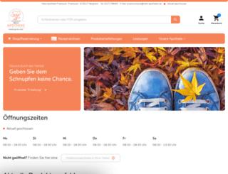 helle-apotheke.de screenshot