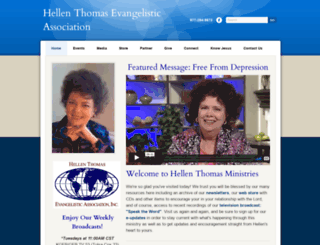 hellenthomas.org screenshot