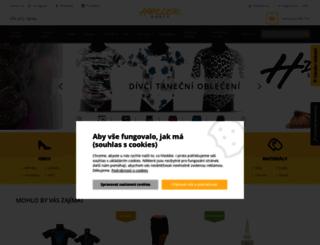 hellerdance.cz screenshot