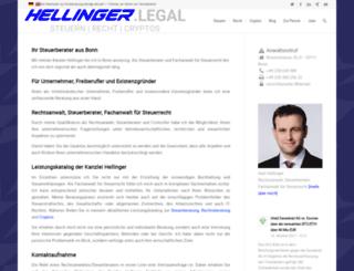 hellinger.eu screenshot