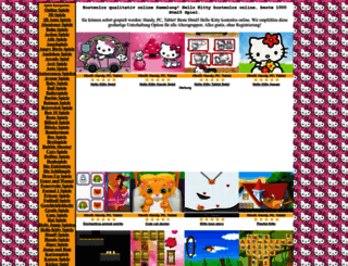 hello-kitty.onlinespiele1.com screenshot