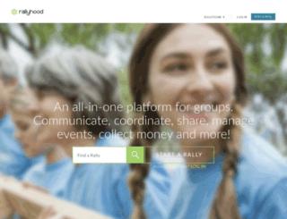 hello.rallyhood.com screenshot
