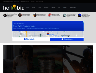 hellobiz.fr screenshot