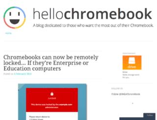 hellochromebook.com screenshot