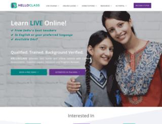 helloclass.com screenshot