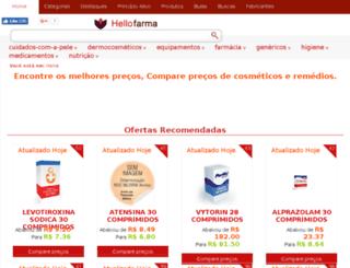 hellofarma.com.br screenshot