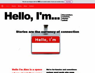 helloimalex.com screenshot