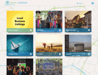 helloisfahan.com screenshot