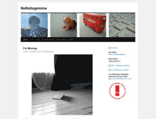 helloitsgemma.wordpress.com screenshot